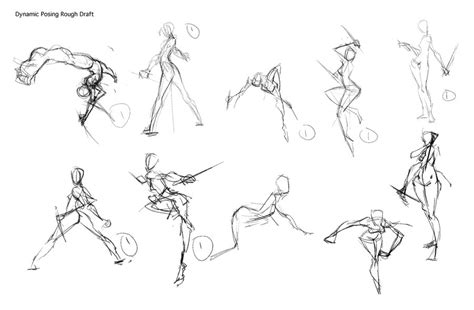 how to draw poses sketch figure drawing poses coloring pages