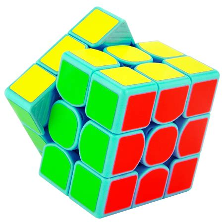 Rubik 3x3 Moyu Weilong Gts Speed Cube 3x3 Illusion Edition moyu weilong gts 3x3x3 speed cube cyan 3x3x3 cubezz professional puzzle store for magic