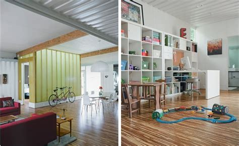 modern colorful and creative shipping container home in modern colorful and creative shipping container home in