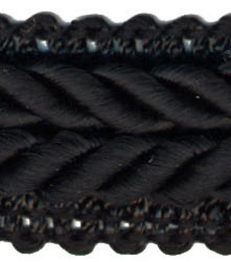 home decor trims home decor trim waverly 3 4 braided gimp black jo ann