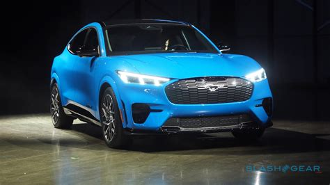 ford mustang mach    electric suv takes