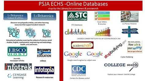 psja early college high library resources