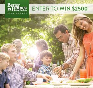 Better Homes And Gardens Sweepstakes - sweepstakes better homes and gardens real estate backyard of your dreams