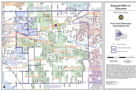 lincoln high school district map willroe org school district maps