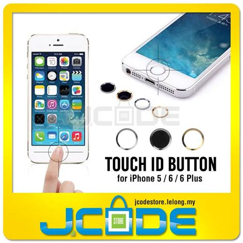 Home Button Protector For Iphone 7 Iphone 7 Plus touch id home button protector for iphone 5 6 6plus