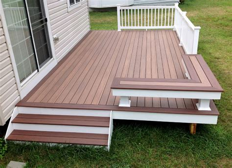 porch deck low maintenance decks traditional deck baltimore
