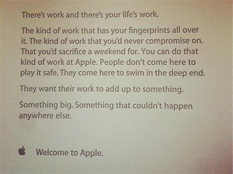 apple s motivational welcome letter inspire new employees the nology