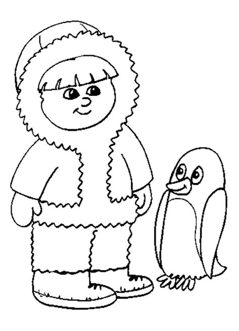 penguin igloo coloring page penguin printable coloring pages coloring home
