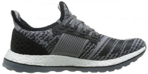 cheap boost zg black solid grey running shoes on sale