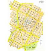 Stadtplan Von Cordoba  Detaillierte Gedruckte Karten