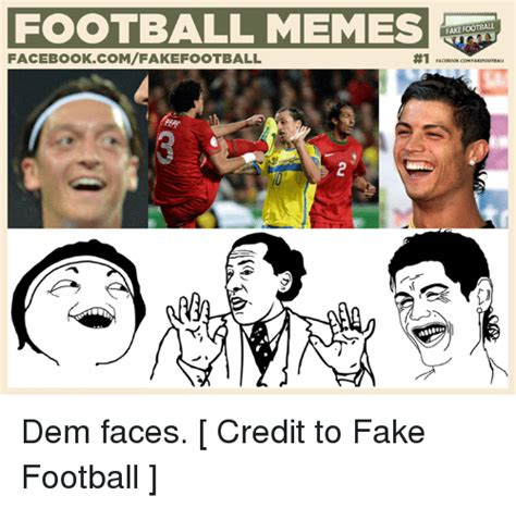 Soccer Memes Facebook - football memes fake football facebookcomfake football