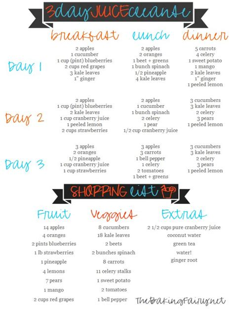 3 Day Juice Cleanse 72 Hour Detox by 72 Detox Drink Recipes Thee Mint