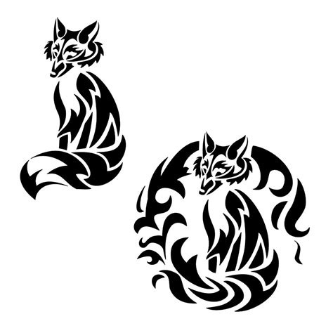 tribes lettere of tribal fox cunning transformation