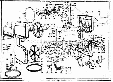 Craftsman 11324290 Parts List And Diagram