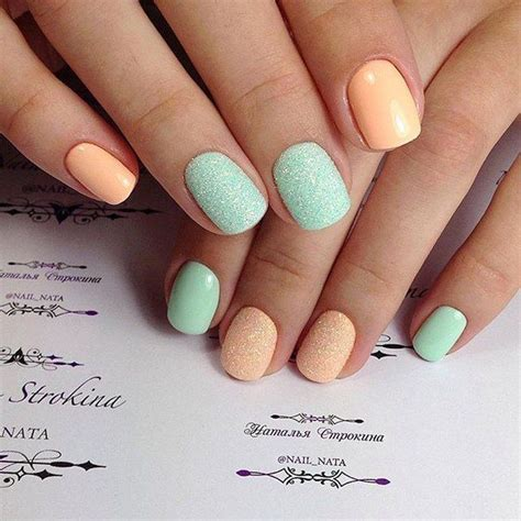 nail colors and designs best 20 two color nails ideas on summer nails