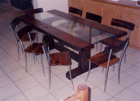 Sleeper Dining Table by Dining Tables Forest Creations