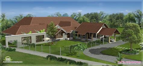 bungalow designs luxury bungalow exterior design kerala home design and floor plans