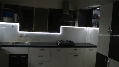 Led Strip Lighting For Kitchen Under Cabinet Diy Youtube Spot Lights For Kitchen