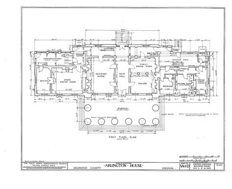 arlington house floor plan 25 best ideas about arlington cemetery map on pinterest