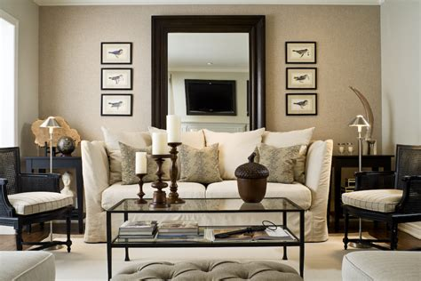 decorating with mirrors over sofa design dilemma what to hang on the big wall behind your