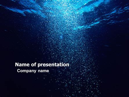 powerpoint themes underwater underwater powerpoint template backgrounds 05763