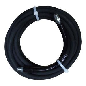 jgb 3 8 in x 25 ft black pressure washer hose 4000