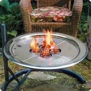 gel pit unique arts stainless steel gel fuel burner insert
