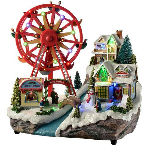 7 ft rotating animated ferriswheel 36cm pre lit led animated rotating ferris wheel decoration ebay