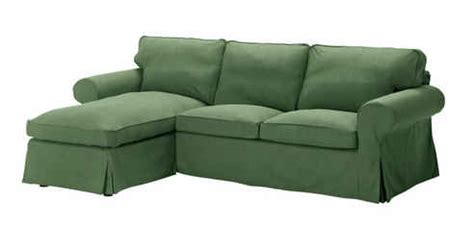 green sectional sofa with chaise ikea ektorp sofa with chaise in green hooked on houses
