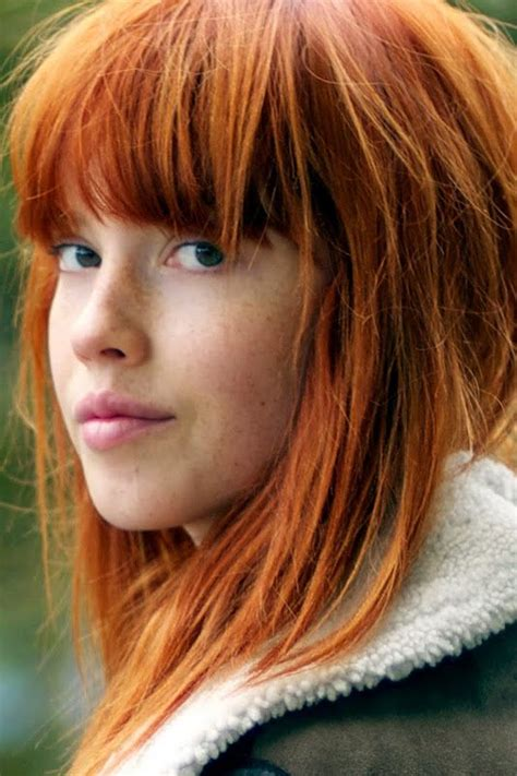 beautiful carrot hairstyles natural beauty hair ginger gingers carrot pinterest