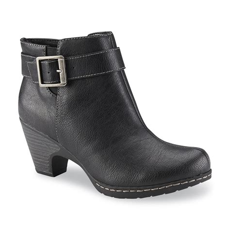 comfortable black booties i love comfort women s shelly black ankle bootie shoes