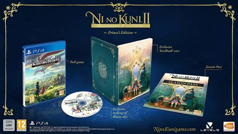 Ni No Kuni Ii Revenant Kingdom Collector Edition Ps4 ni no kuni ii revenant kingdom collector s edition revealed and it s gorgeous sa gamer