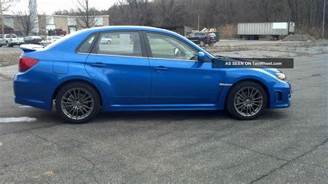 2 Door Wrx by 2011 Subaru Impreza Wrx Premium Sedan 4 Door 2 5l