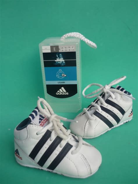 Nurin Stripe nurin s great collections genuine infant leather pram shoes trainers from adidas sold