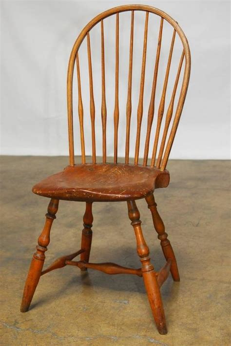 american bow back chair assembled pair of american bow back chairs for