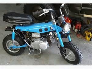 Suzuki Mini Bike For Sale 1972 Suzuki Trailhopper 50cc Mini Bike Outside