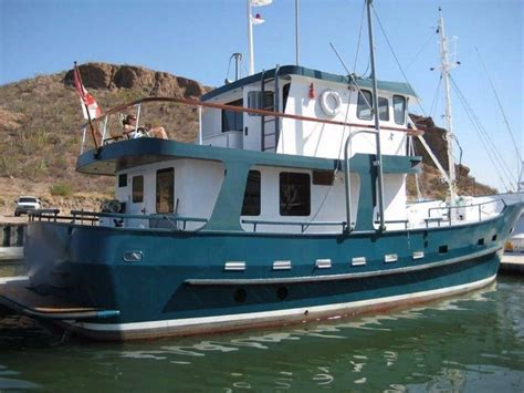 used trawler boats for sale 1996 custom north sea trawler power boat for sale www