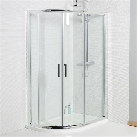 Buy Shower Door Buy Buy Verona Uno Offset Quadrant Shower Door 1200mm X 800mm 6mm Glass Shop Every Store
