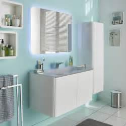 colonne de salle de bains blanc brillant ceylan castorama