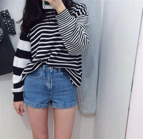 Sweater Seungri Same Stripes Logo Cloth Thirteen Fall