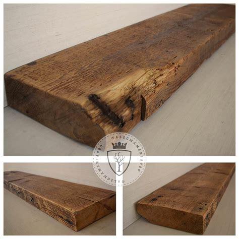 mensole in legno grezzo legno massello tre mensole in legno massello di castagno