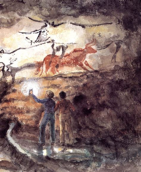 from lascaux to books the secret cave emily arnold mccully macmillan