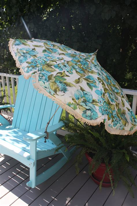 Vintage Patio Umbrella Vintage Mid Century Modern Patio Umbrella Portable For Table