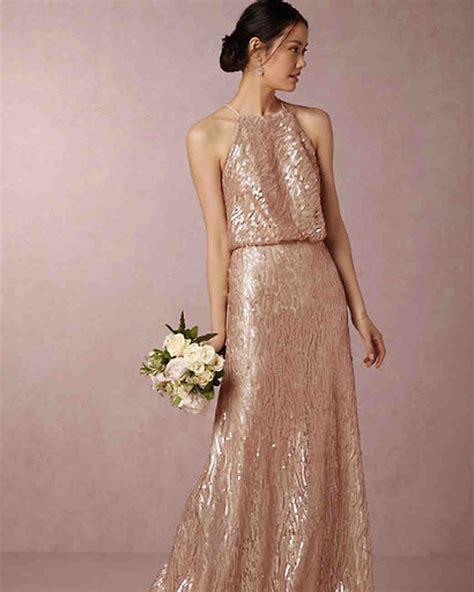 Gold Bridesmaid Dress by Gold Bridesmaid Dresses Martha Stewart Weddings