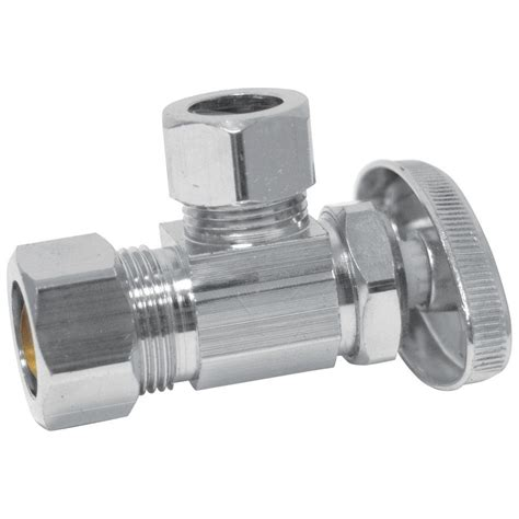 Stop Valves Plumbing by 5 Supply Stop Valves Valves The Home Depot