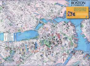 usa map with boston typical tourist map trip news