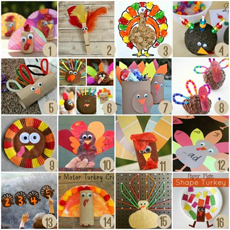 easy turkey crafts for thanksgiving crafts for crayon box chronicles