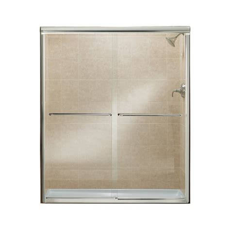 Sterling Shower Doors By Kohler Sterling By Kohler Finesse 70 06 Quot X 57 Quot Sliding Frameless Shower Door Reviews Wayfair