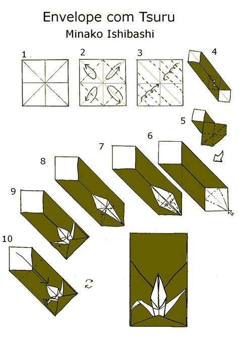 Origami Crane Envelope - 223 best origami tsuru images on origami