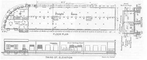 terminal floor plan columbus interurban terminal article